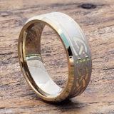 knotwork gold beveled celtic rings