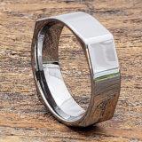 men polished unique rings