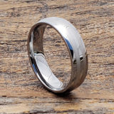 mens engraved double inlay rings