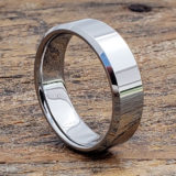 7mm orion reflective tungsten wedding bands