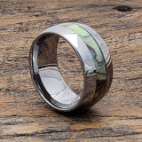 abalone inlay statement rings
