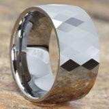 hades mens diamond cut statement rings